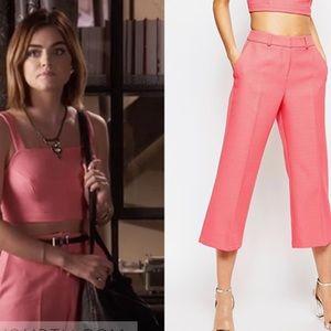 ASOS Pink Crop Pants ASO Pretty Little Liars